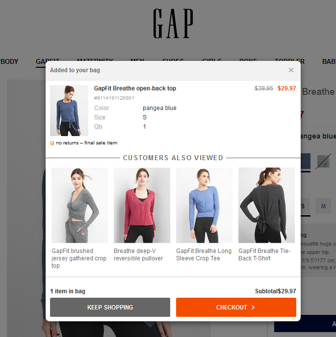 shopify cart upsell - product recommendations
